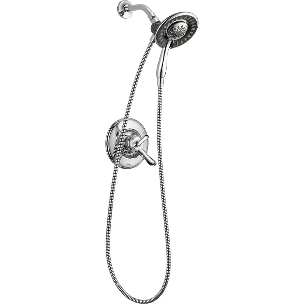 Linden Monitor 17 Series Shower with In2ition Two-in-One Shower, Chrome
